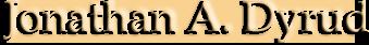 Jonathan A. Dyrud logo